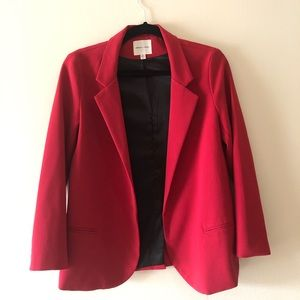 Silence & Noise Red Blazer